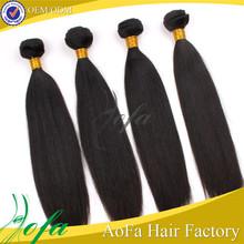relaxed 5aaaaa brazilian kinky straight hair for black women
