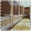 Wallpaper folha de ouro/nobre de restaurante e hotel de pvc papel de parede