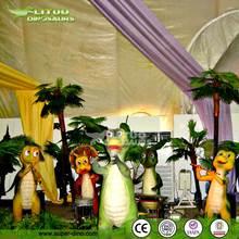 Animatronic Dino Cartoon Character