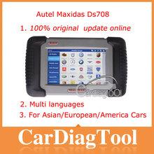 2014 Automotive Special Tool Autel Maxidas DS708 Scanner, Autel diagnostic Tool update online 100% original--Crystal