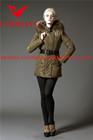 2014 Hot sale latest real fur high quality shiny fashion winter womens jackets coats and blazers