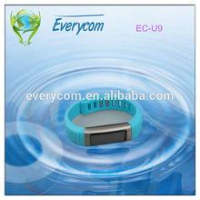 Alarm clock pedometer WIFI mobile health watch silicon watch
