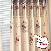 El más nuevo diseño 100% de poliéster de la decoración de la sala moderna ventana cortina de tela