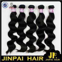 JP Hair FREE SHIPPING 5A Top Grade 16 18 20 Inch 3 Pcs A Lot Virgin Filipino Thick Human Hair