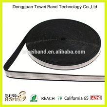 Flat woven elastic band 75 mm