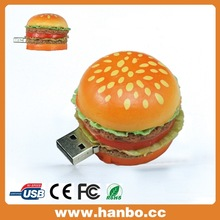 simple hamburg design usb stick 8gb/16gb bulk sell in shenzhen china
