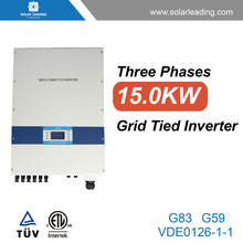 Industry used 1500w inverter 220v 380v three phase converter connect to tuv solar cable for solar home power system