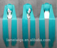 Wholesale japanese kanekalon hatsune miku cosplay wig