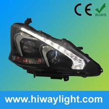 head lights car parts for Nissan Teana
