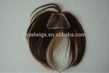 Hairs Banged Closure High Quality Human Hair Extension For Black Hair