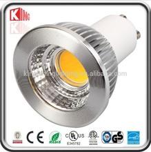 New design Ce mark 5w cob gu10 led lamp led adapter bulb gu10 to e27