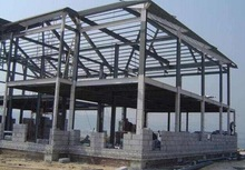 Standard Steel Structure Warehouse workshop godown office building