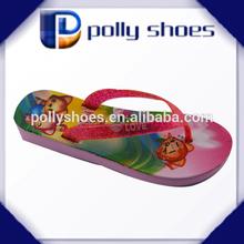 custom logo eva lady flip flop slipper straw 2014