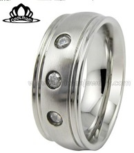 2014 fashion wholesale friendship mens stainless steel rings