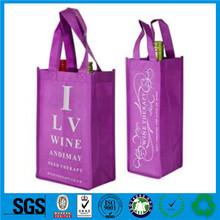 Guangzhou silk printed non woven bag,shiny non woven bags