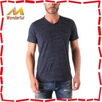 32S/40S combed cotton custom cut and sew t shirts bulk wholesale blank plain t-shirts in mumbai