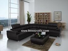 Baochi danish modern furniture wholesale,leather sofa factory direct,imported leather sofa C1128-B