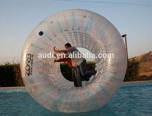 inflatable human hamster water wheel