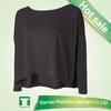 Best seller woman long sleeve t shirt/ custom printed fashion tshirt/ long sleeve plain white t-shirt
