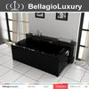 Black massage Bathtub, European standard Whirlpool, antique style bathtub