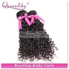 Real mink brazilian hair remy afro kinky curl weave