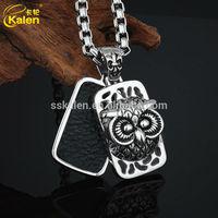 Owl hanging board hourglass pendant