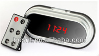 1080p first night hidden camera videos, table clock camera, hd hidden camera hot video BS-749