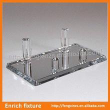 small order acrylic display case with sliding doors ,acrylic handbag display stand