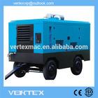 ISO Certificated energy saving 2014 Portable Diesel screw air compressor portable air compressor