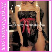 Top Sellling mature nude babydoll nighties lingerie