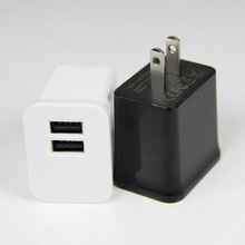 2014 Newest Multi-Colors Colorful 5V 2.1A USB home Charger for iphone and iPad
