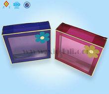 Acetato de cajas de embalaje transparente, de acetato transparente cajas de regalo
