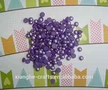 wholesale pearl accessories purple pearl for scrapbook