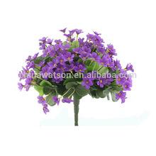 Wholesale home garden decoration good artificial bush flower