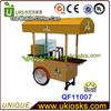 custom made italian ice cream cart, ice cream tricycle sale from China