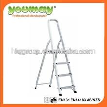 EN131 Aluminum Folding step Ladder AF0304A/a product ladder/rope ladder/shoes