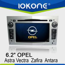 "6.2"" HD Touch screen opel vectra dvd navigator with GPS, ipod, usb, dvd, camera, dvb-t"