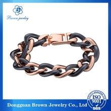 gold snake and fabric plait bracelet