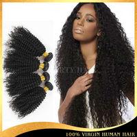 5A 100% Virgin Indian Hair List Of Hair Weave Kinky Curl Indian Hair Extensions Wholesale