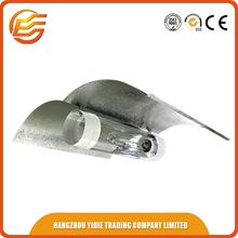 Hydroponic aluminum hid grow light reflector of high bay light