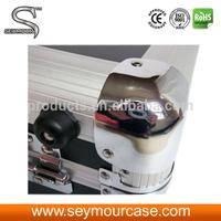 durable aluminum case aluminium CD storage box