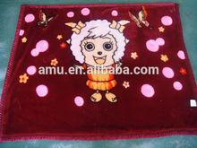 super soft organic fabric crochet knitted new born baby blanket