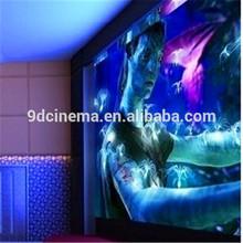 3dof/6dof electric 4d 5d 7d 9d 10d 11d cinema motion platform with 9/12 seats