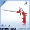 Los nombres de diferentes productos cy-021decorative herramientas de pintura sellador de espuma de la pistola