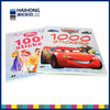 Paperback book printing/child sticker book printing