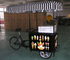 2014 New Arrival -- Three-wheeled Ice cream tricycle/trike/bicycle/carts with Solar/DC powered Ice cream freezer