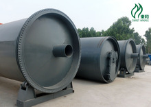 Cooperation to achieve win-win continuous waste tyres extract fuel oil and carbon black