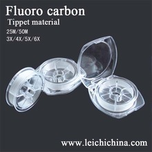 Top quality chinese fluoro carbon tipped material fly line