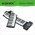88-key digital roll up piano, Brinquedos para as pessoas de idade, Rolo de mão de piano