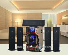 5.1 Big bass hifi system surround sound speaker